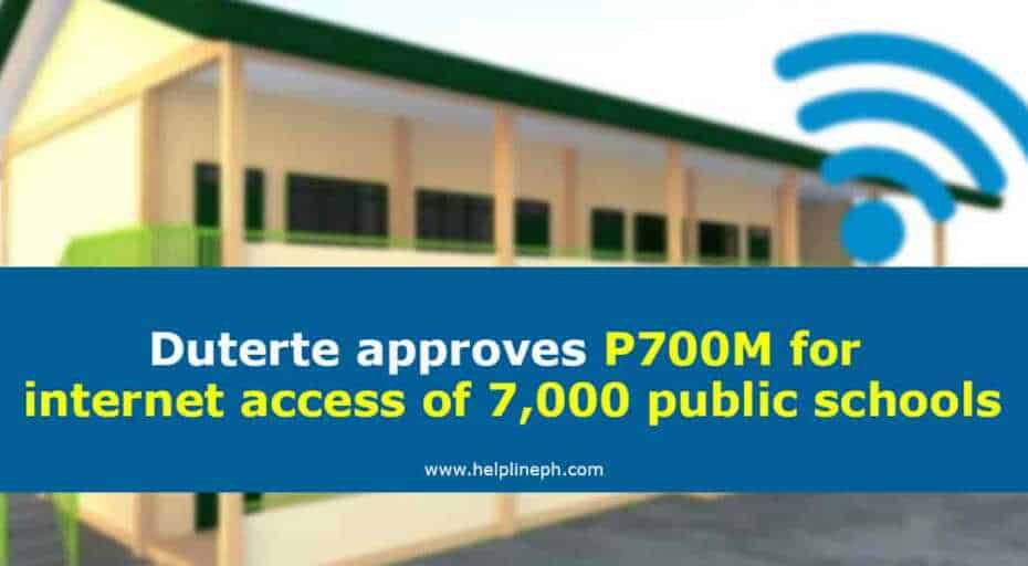 700M for internet access