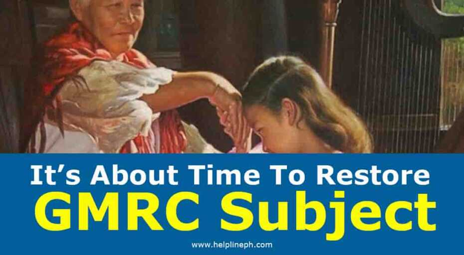 It's About Time To Restore GMRC Subject