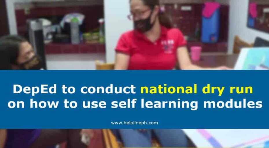 how to use self learning modules