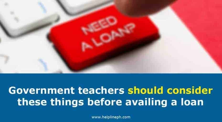 Things to consider before availing loan