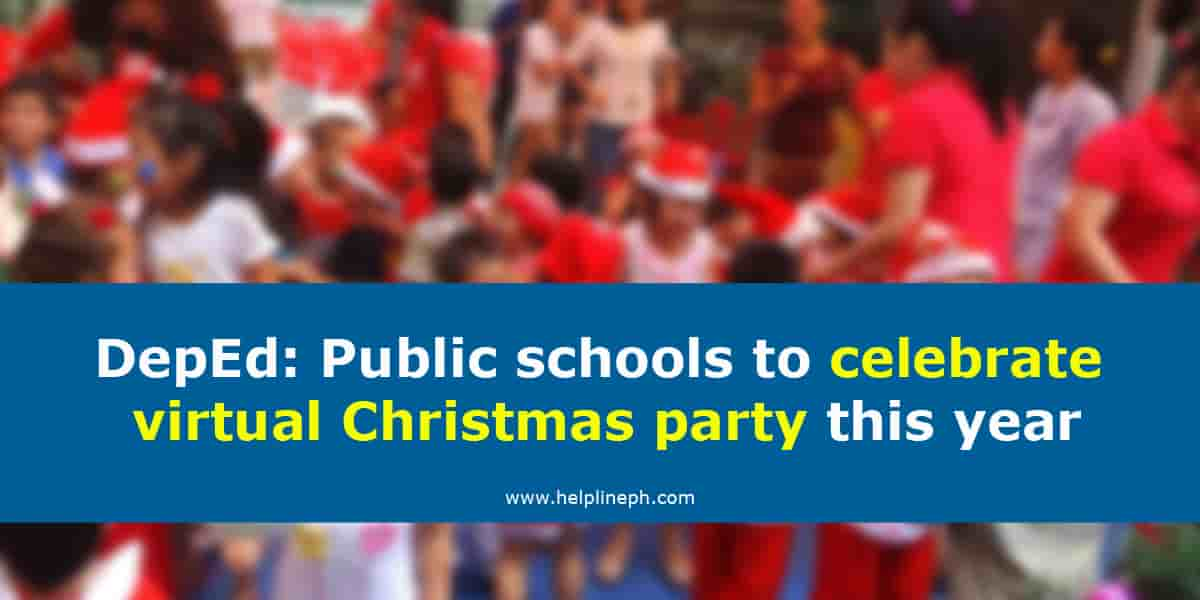 DepEd Virtual Christmas Party