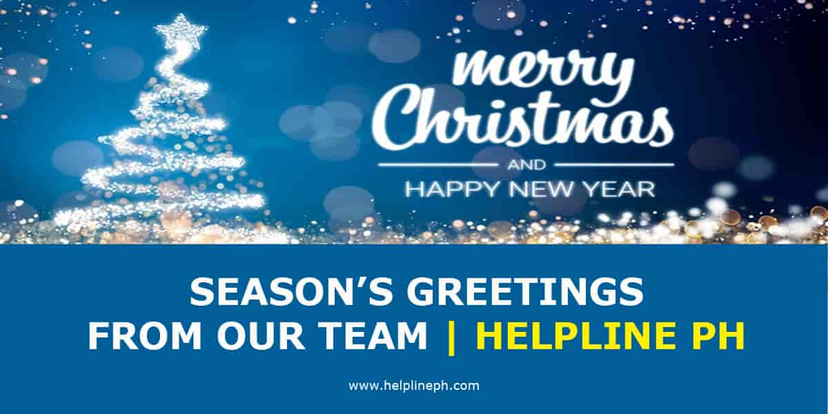 SEASON'S GREETINGS FROM OUR TEAM
