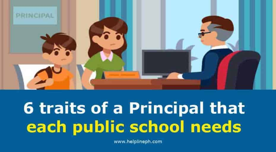 6 traits of a Principal