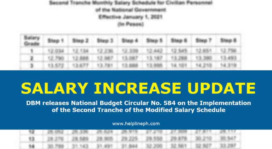 Salary Increase Update