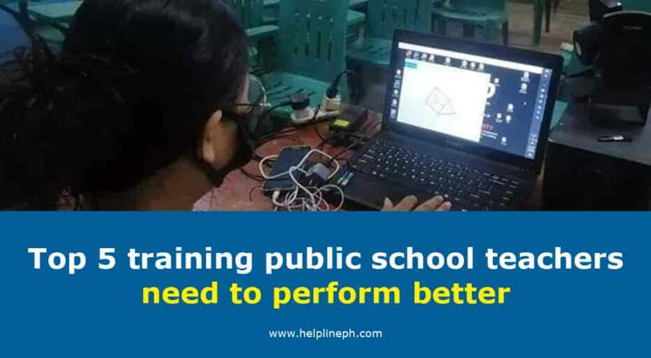 Top 5 training public school teachers