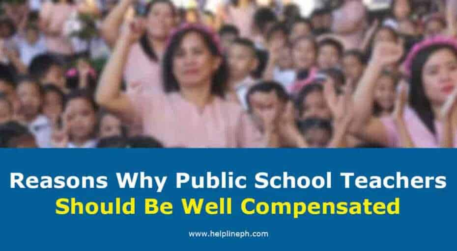 Public School Teachers Should Be Well Compensated