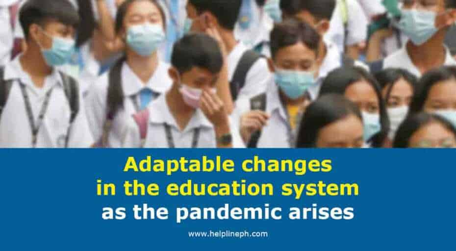 Adaptable changes in the education system