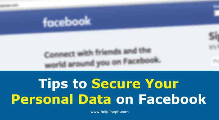 Tips to Secure Your Personal Data on Facebook