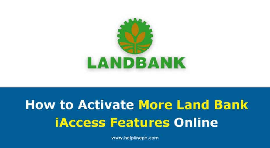 Activate More Land Bank iAccess Features