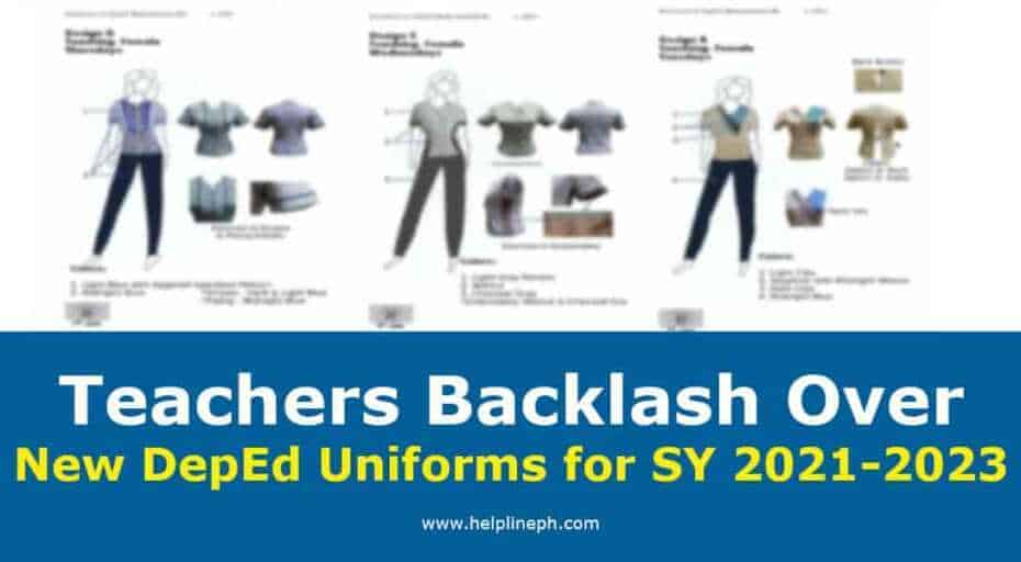 New DepEd Uniforms for SY 2021-2023