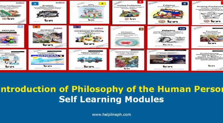 Introduction of Philosophy of the Human Person