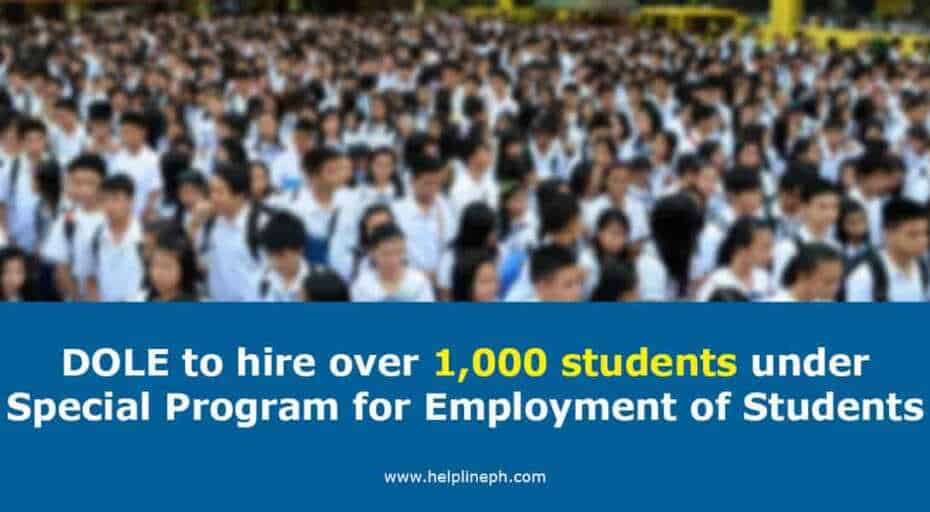 Special Program for Employment of Students