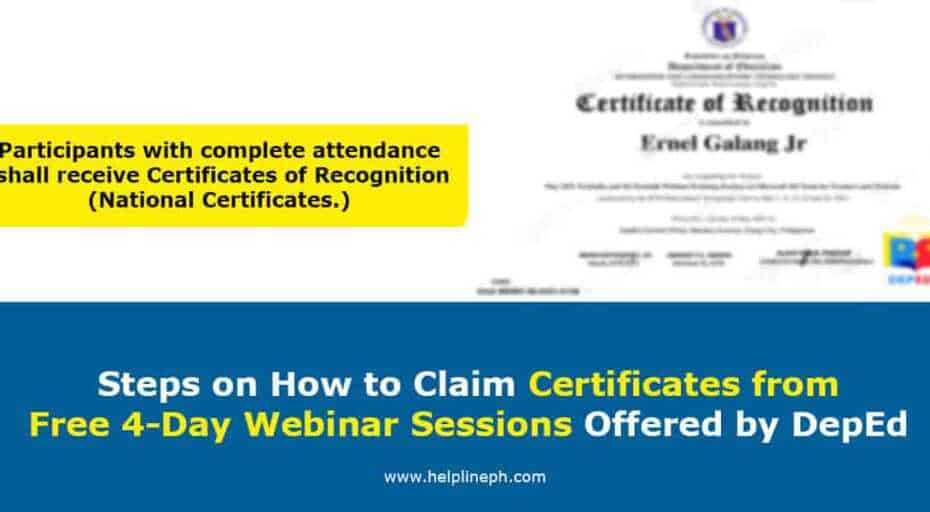 How to Claim Certificates