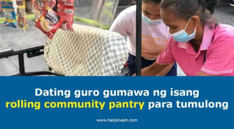 Rolling community pantry