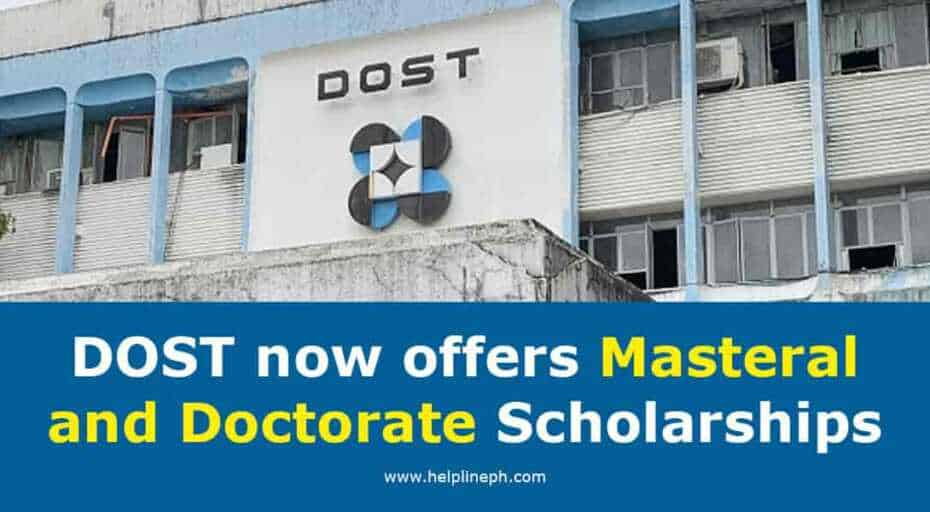 Masteral and Doctorate Scholarships