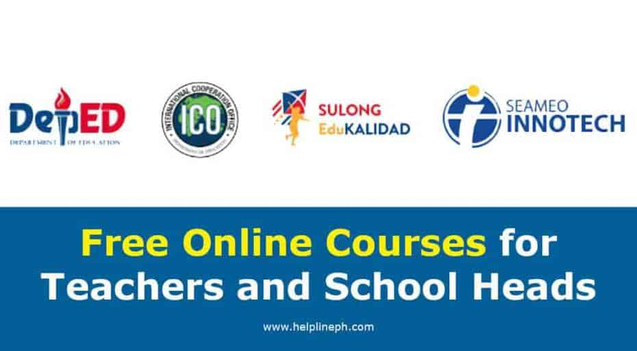 Courses for Teachers and School Heads