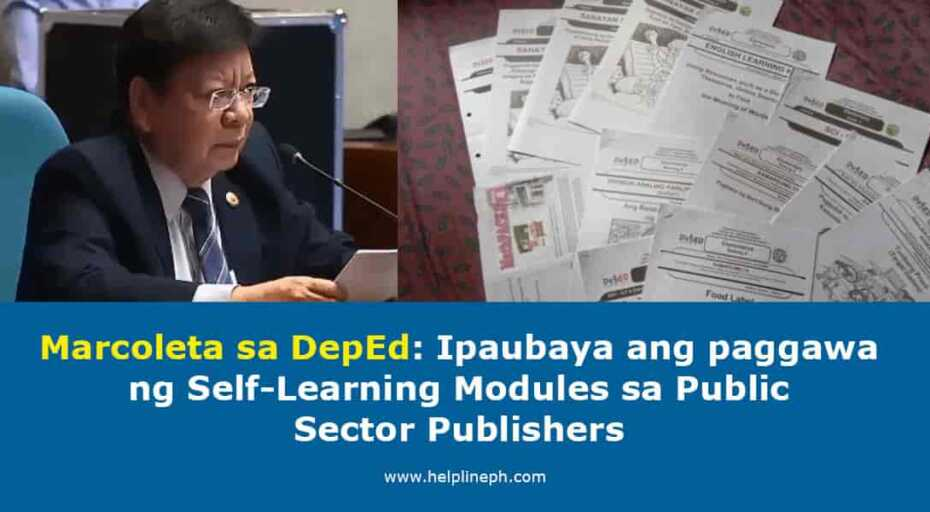 Self-Learning Modules sa Public Sector Publishers