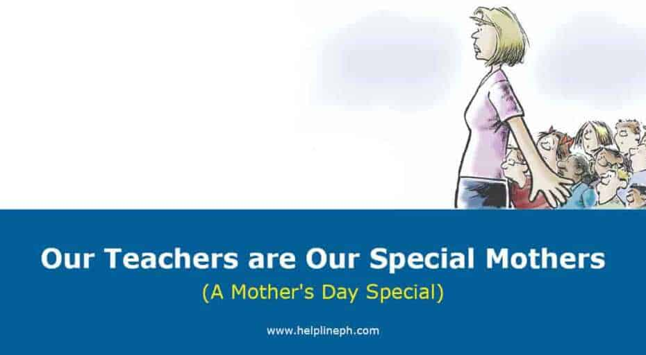 Our Teachers are Our Special Mothers