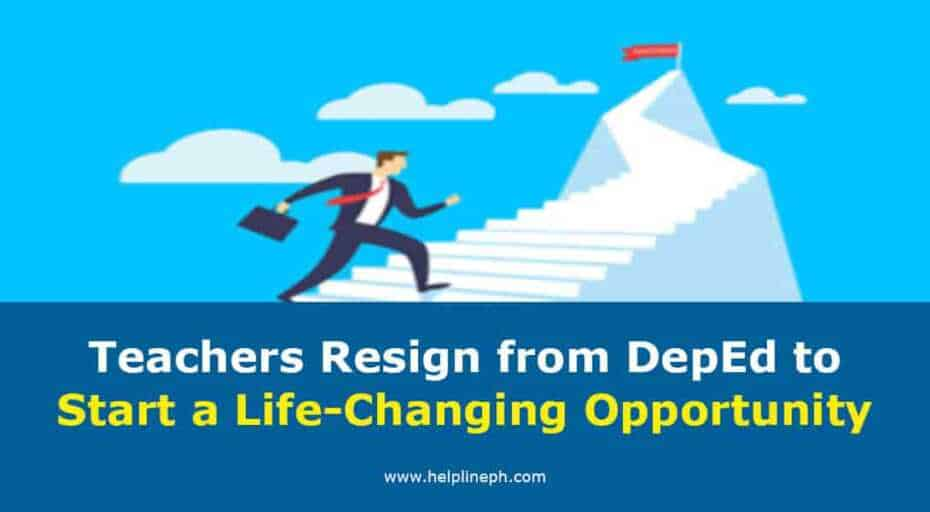 Teachers Resign from DepEd