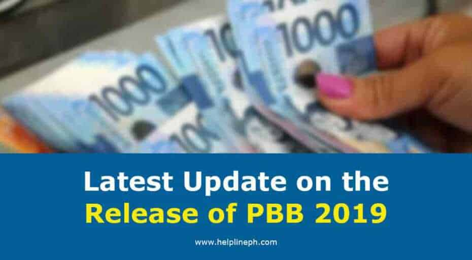 Release of PBB 2019