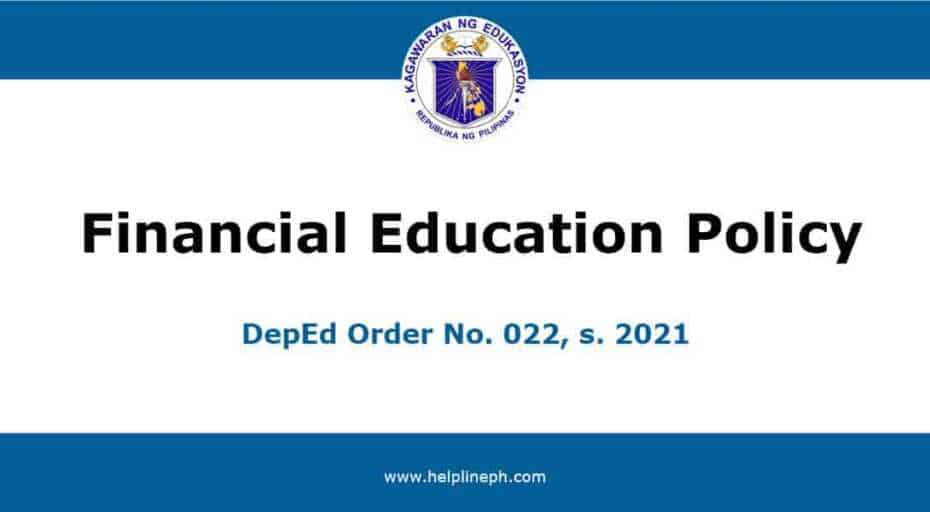 Financial Education Policy