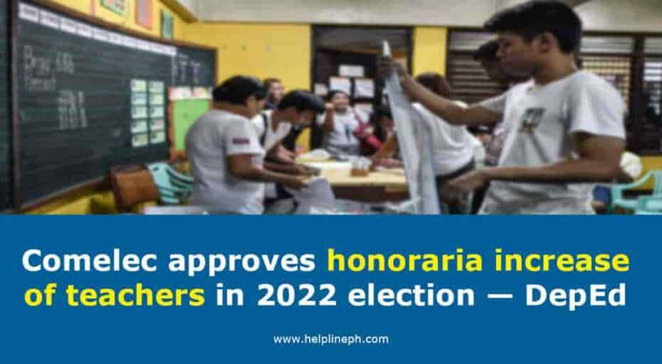 Comelec approves honoraria increase