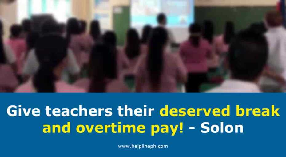 deserved break and overtime pay