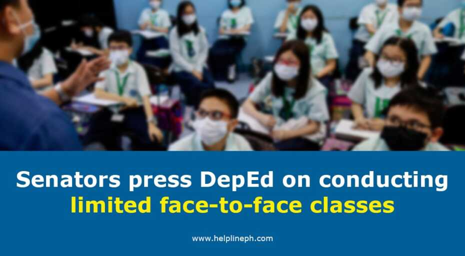 conducting limited face-to-face classes